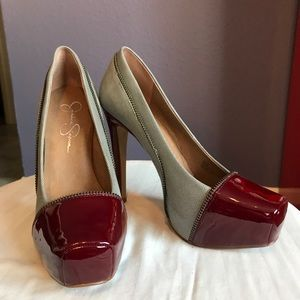 Jessica Simpson Platform Heels Size 8